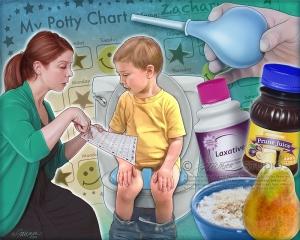 Слабительные  при запоре у ребенка 3 лет