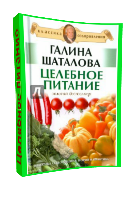 Галина Шаталова Целебное питание скачать бесплатно