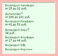 Аналоги_бисакодила